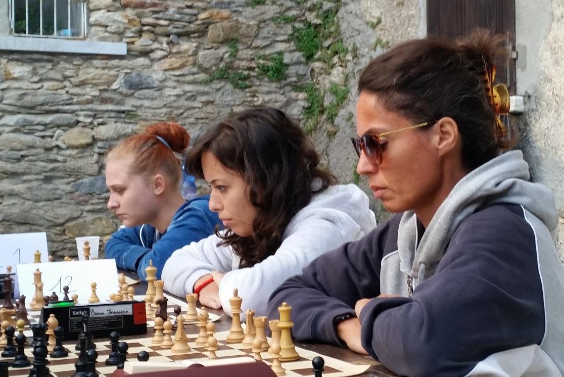 Le tre brave apuane, Michela, Anita e Giulia