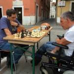 Il maestro Godani seriamente impegnato da Antonio Barozzi