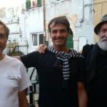 Il podio: Godani, Tazzini e Lasio