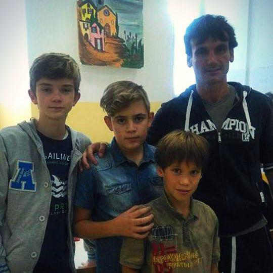Montorsi, Bertolozzi (circolo Versilia), Massazza e Tazzini, tutti bravissimi oggi!