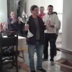Il vincitore Tiziano Godani